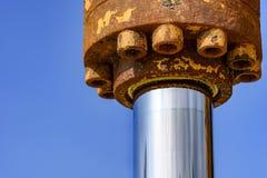Szczegół hydrauliczna przekładnia Zdjęcie Royalty Free