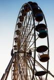 Szczegół I sylwetka Ferris koło Fotografia Royalty Free