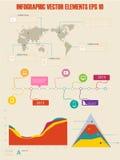 Szczegół infographic ilustracja. Obrazy Royalty Free