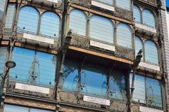 Szczegół instrumentu muzycznego muzeum jest muzycznym muzeum w środkowym Bruksela, Belgia (MIM) Zdjęcia Stock