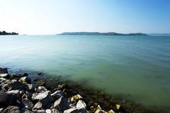 Szczegół Jeziorny Balaton, Węgry Fotografia Stock