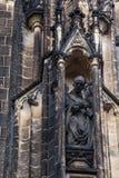Szczegół katedra święty Vitus w Praga Fotografia Stock
