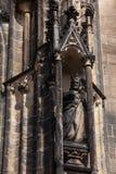 Szczegół katedra święty Vitus w Praga Fotografia Royalty Free