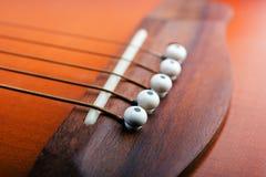 szczegół klasyczna gitara obrazy stock