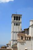 Szczegół kościół w Assisi, Włochy fotografia royalty free