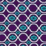 Szczegół kolorowa tło tkanina. Zdjęcie Royalty Free