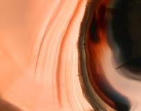 Szczegół kopalny agata tło Fotografia Stock