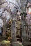 Szczegół krypta katedra Nasz dama gracja Juli i święty Obrazy Stock