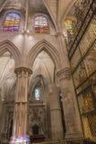 Szczegół krypta katedra Nasz dama gracja Juli i święty Obraz Royalty Free
