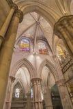 Szczegół krypta katedra Nasz dama gracja Juli i święty Zdjęcia Royalty Free