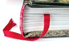 Szczegół książki Fotografia Stock