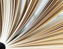 szczegół książkowe strony Zdjęcia Stock