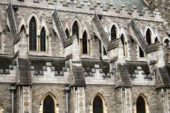 Latający gurt, Chrystus Kościelna katedra, Dublin Fotografia Stock