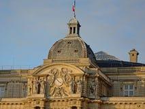 Szczegół Luksemburg pałac, Paryż, Francja fotografia stock