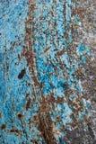Szczegół mały betonowy melanżer ośniedziały zdjęcia stock