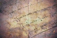 Szczegół matematyka podręcznik fotografia royalty free