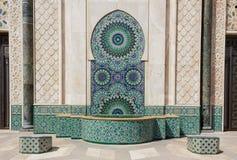 Szczegół meczet w Casablanca obraz stock