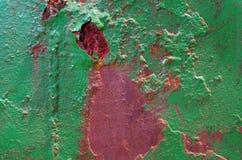 szczegół metal ściana Fotografia Stock