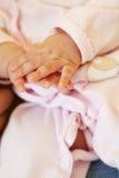 Szczegół 3 miesięcy stary dziecko Zdjęcie Royalty Free