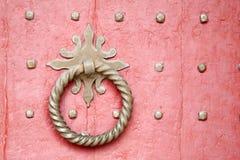 Szczegół na Głównym drzwi, Winchester katedry kościół fotografia royalty free