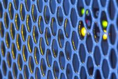 Szczegół na metalu grille Zdjęcie Stock