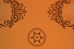 Szczegół na suficie Egy ptian bazar royalty ilustracja