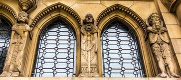 Szczegół Notre-Dame katedra w Luksemburg obraz stock