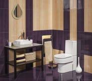 Szczegół nowożytna łazienka z zlew Zdjęcia Stock