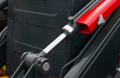 Szczegół nowy hydrauliczny buldożeru tłok Obraz Royalty Free