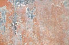 szczegół ośniedziały metalu talerz, abstrakt Obraz Stock
