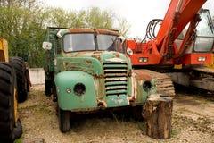 Szczegół obdrapana Ebro ciężarówka obraz stock