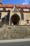 Szczegół OBERE PFARRE kościół w Bamberg, Niemcy Obraz Stock