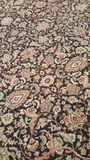 Szczegół Orientalny Dywanowy projekta tło Zdjęcie Stock