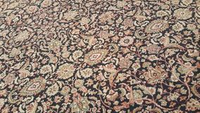 Szczegół Orientalny Dywanowy projekta tło Zdjęcie Royalty Free