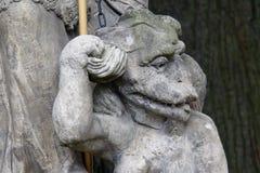 Szczegół Oswojony diabeł Obrazy Royalty Free