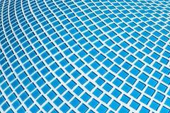 Szczegół piękna abstrakcjonistyczna ceramiczna mozaika ozdabiał budynek Wenecka mozaika jako dekoracyjny tło Obraz Stock