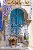 Szczegół piękna dachówkowa mozaiki dekoracja przy fezem, Mo Zdjęcie Royalty Free
