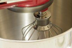Szczegół puchar czerwony plandeki głowy stojaka melanżer zdjęcia stock