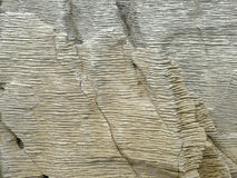 Szczegół Punakaiki skały Zdjęcie Royalty Free