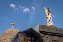 Szczegół Recoleta cmentarz - Buenos Aires, Argentyna obraz royalty free