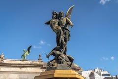 Szczegół Recoleta cmentarz - Buenos Aires, Argentyna zdjęcia royalty free