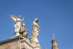 Szczegół Recoleta cmentarz - Buenos Aires, Argentyna zdjęcie stock