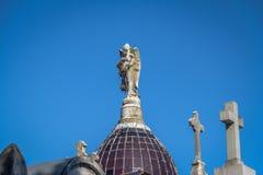 Szczegół Recoleta cmentarz - Buenos Aires, Argentyna obraz stock