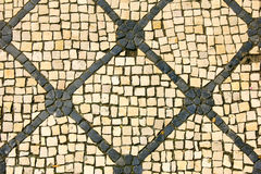Calcada Portuguesa, Portugalski bruk Obrazy Royalty Free