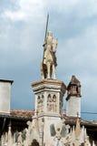 Szczegół Scaliger grobowowie, Arche Scaligere Cansignorio, Verona - Włochy Zdjęcie Royalty Free