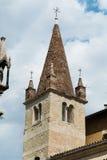 Szczegół Scaliger grobowowie, Arche Scaligere Cansignorio, Verona - Włochy Obraz Royalty Free