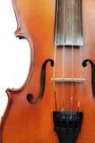 Szczegół skrzypce obraz royalty free