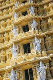 Szczegół Sri Chamundeswari świątynia Obraz Stock