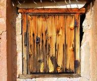 Szczegół stary drzwi, obraz royalty free