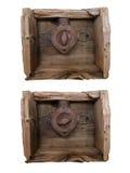 Szczegół Stary Obrotowy Swith Daleko - Dalej - obraz stock